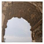 Ruinas en Roma, Italia Azulejo Cuadrado Grande