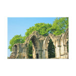 Ruinas en York Impresion De Lienzo