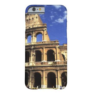 Ruinas famosas del coliseo en Roma Italia Funda De iPhone 6 Barely There