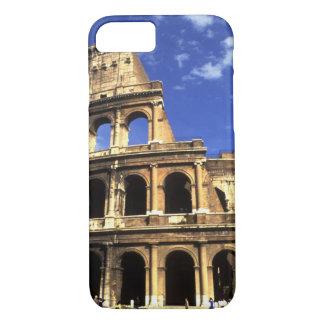 Ruinas famosas del coliseo en Roma Italia Funda iPhone 7