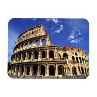 Ruinas famosas del coliseo en Roma Italia Imán De Vinilo