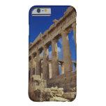 Ruinas griegas, acrópolis, Grecia Funda De iPhone 6 Barely There