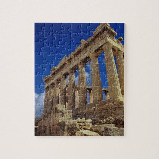 Ruinas griegas, acrópolis, Grecia Rompecabezas