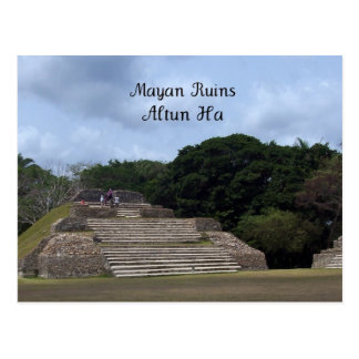Ruinas mayas, Altun ha Tarjeta Postal