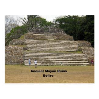 Ruinas mayas antiguas, Belice Postales