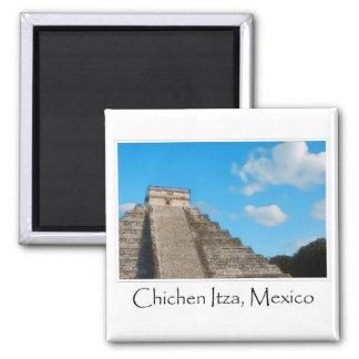 Ruinas mayas de Chichen Itza México Imán Cuadrado