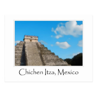 Ruinas mayas de Chichen Itza México Postal