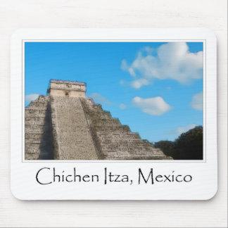 Ruinas mayas de Chichen Itza México Tapetes De Ratones