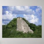 Ruinas mayas de Coba, península del Yucatán, Méxic Póster