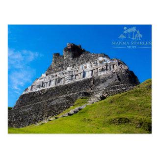 Ruinas mayas de Xunantunich en Belice Postales