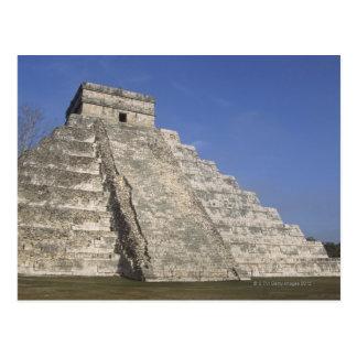 Ruinas mayas en Chichen Itza, pirámide de Postales