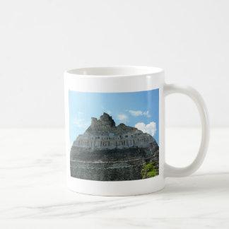 Ruinas mayas - xunantunich Belice Taza De Café