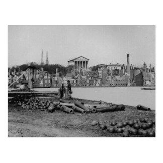 Ruinas por una tentativa confederada de quemar Ric Postales
