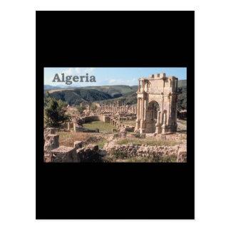 Ruinas romanas de Argelia Tarjetas Postales