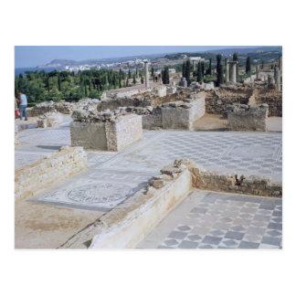 Ruinas romanas del puerto de Emporion Postales