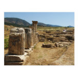 Ruinas romanas en Hierapolis Pamukkale Turquía Postales