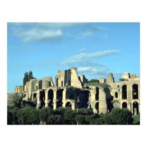 Ruinas romanas, Roma, Italia Tarjetones