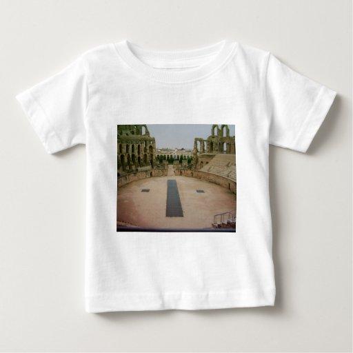 Ruinas romanas Túnez Playera De Bebé