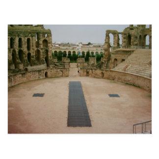 Ruinas romanas Túnez Postales