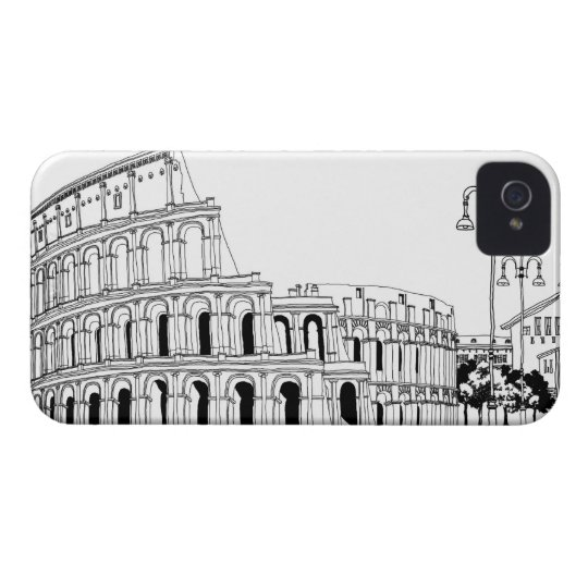 Ruined Amphitheater iPhone 4 Case