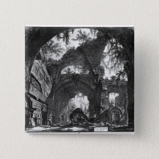 Ruined Gallery of the Villa Adriana at Tivoli Button