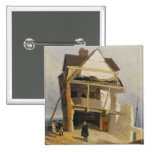 Ruined House, c.1807-10 (oil on millboard mounted Button
