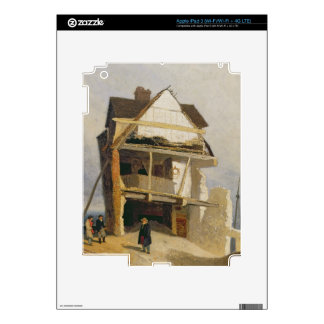 Ruined House, c.1807-10 (oil on millboard mounted iPad 3 Decal