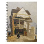 Ruined House, c.1807-10 (oil on millboard mounted Journals