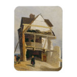 Ruined House, c.1807-10 (oil on millboard mounted Magnets