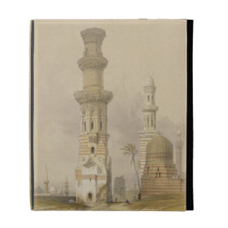 Ruined Mosques in the Desert, west of the Citadel, iPad Case