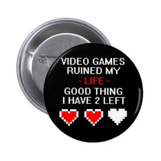 Ruined My Life, Style 2 Pinback Button