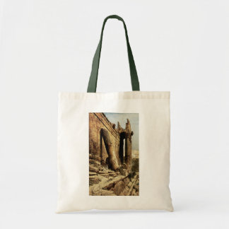 Ruined Temple in Ballbeck Budget Tote Bag