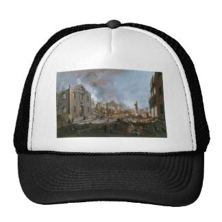 Ruins after the Great Fire in New York c. 1835 Trucker Hat