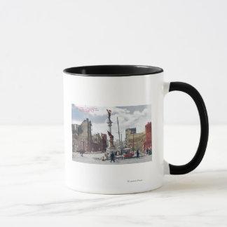 Ruins Along Mason Street, Union Square Statute Mug