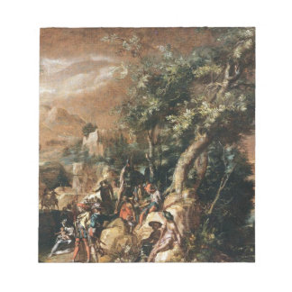 Ruins and Figures by Paul Bril Memo Note Pads