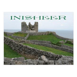 Ruins at Inisheer, Ireland Postcard