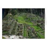 Ruins at Machu Picchu Greeting Card