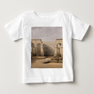Ruins at Medinet Abou, Thebes, Egypt Baby T-Shirt