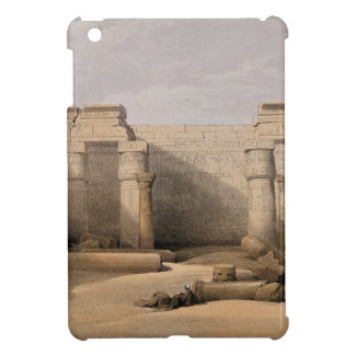 Ruins at Medinet Abou, Thebes, Egypt iPad Mini Cover