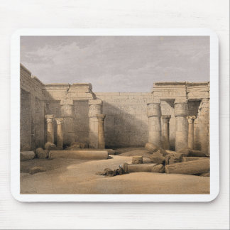 Ruins at Medinet Abou, Thebes, Egypt Mouse Pad