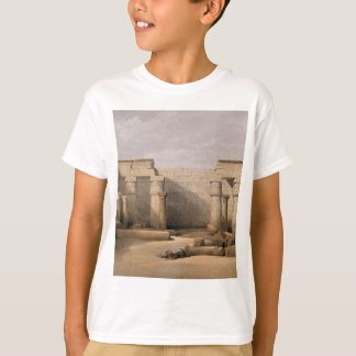 Ruins at Medinet Abou, Thebes, Egypt T-Shirt