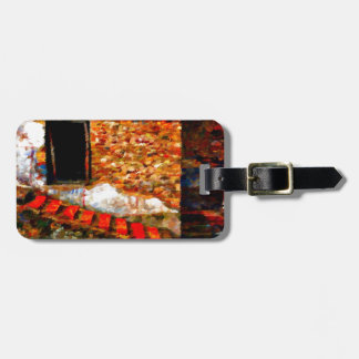 Ruins at Pompeii Italy Bag Tag