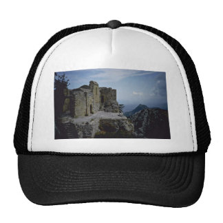Ruins At The Mountain Top Trucker Hat