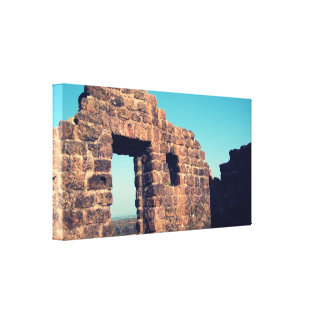 Ruins in Aguada Fort Goa India Stretched Canvas Prints