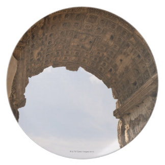 Ruins in Rome, Italy Party Plate