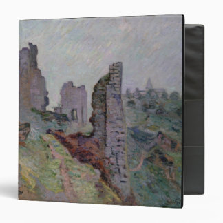 Ruins in the Fog at Crozant, 1894 (oil on canvas) Binder
