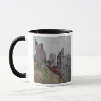 Ruins in the Fog at Crozant, 1894 (oil on canvas) Mug