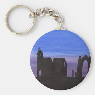Ruins In the Gloaming Keychain