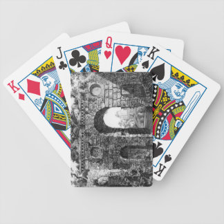 Ruins in the middle of Kew Gardens, from 'The Gard Bicycle Playing Cards