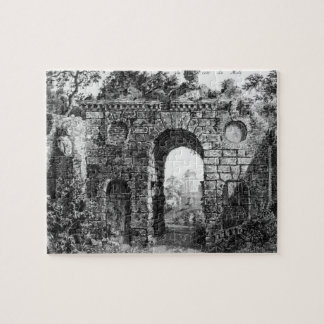Ruins in the middle of Kew Gardens from The Gard Puzzle